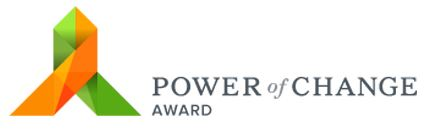 Power of Change Award logo