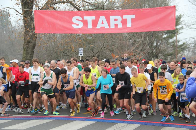 Glastonbury's Annual Road Race