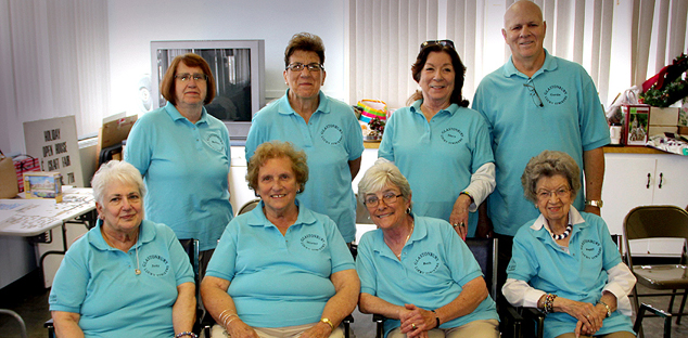 Glastonbury Seniors Wii Bowling Team