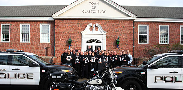 Glastonbury PD supports #DStrong