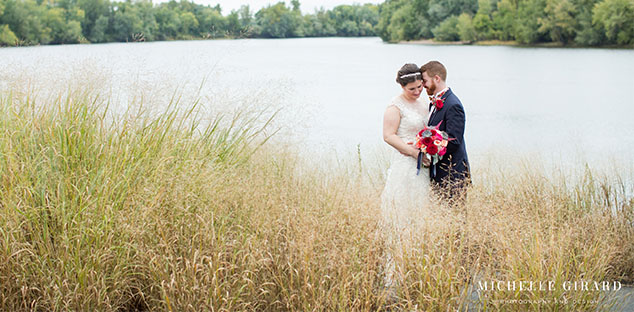 Fall wedding at the Boathouse