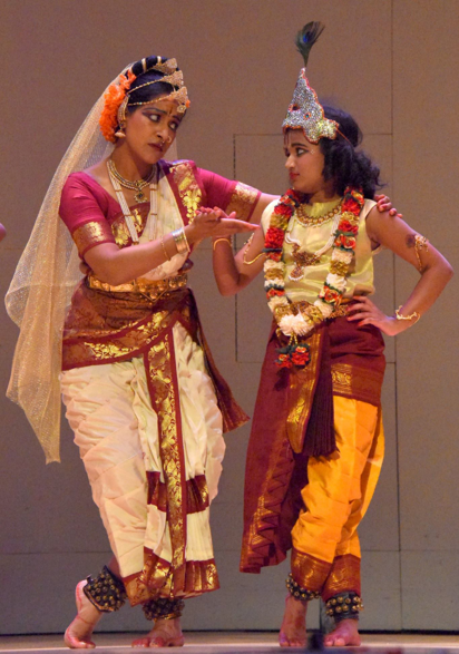 Kuchipudi Dance-photo appears with permission