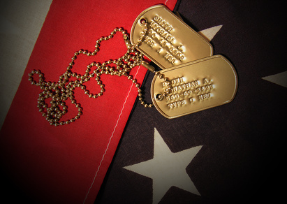 Vietnam War Tags-copyrighted image