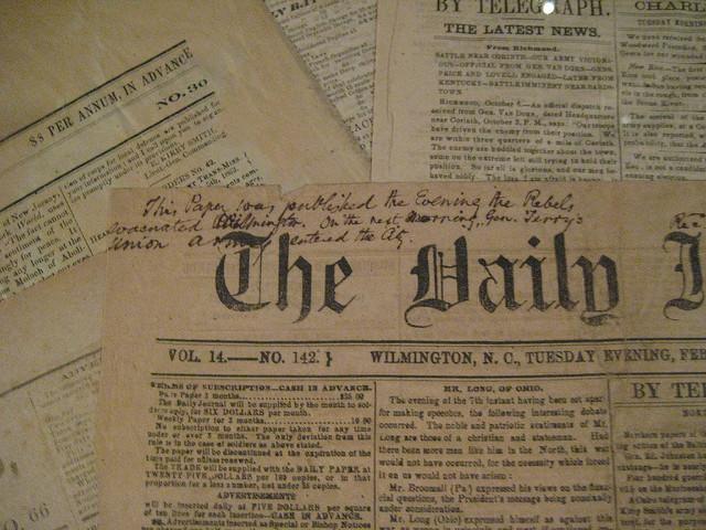 Civil War Era Newspapers