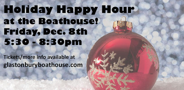 Holiday Happy Hour at the Boathouse