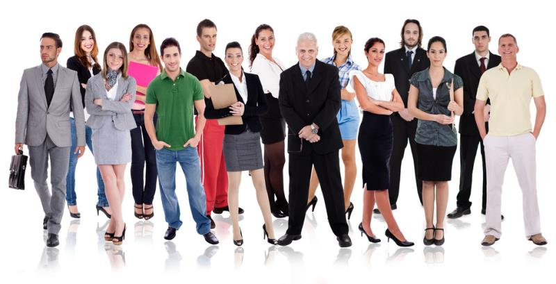 Group of People Varying Ages-copyrighted image