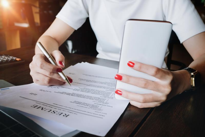 Writing Resume-copyrighted image