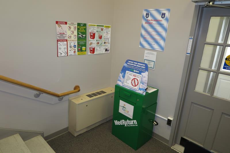 prescription drug drop-box
