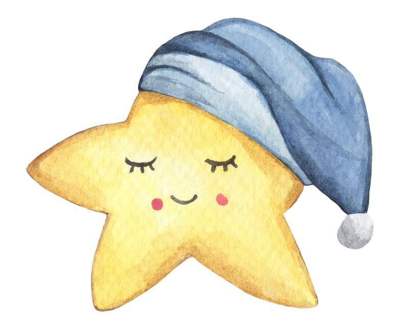 Star with Nightcap-copyrighted image